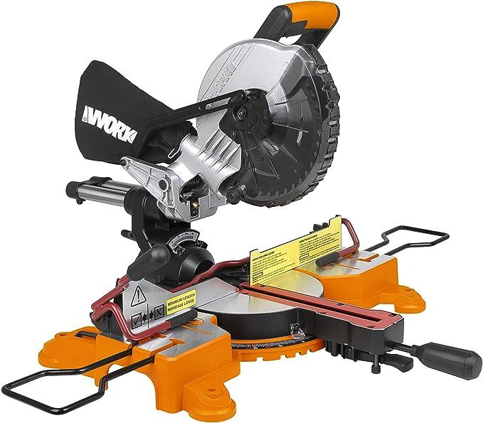 WORX WX845.9 18V (20V MAX) 216mm Cordless Sliding Mitre Saw-Body ONLY: Amazon.co.uk: DIY & Tools