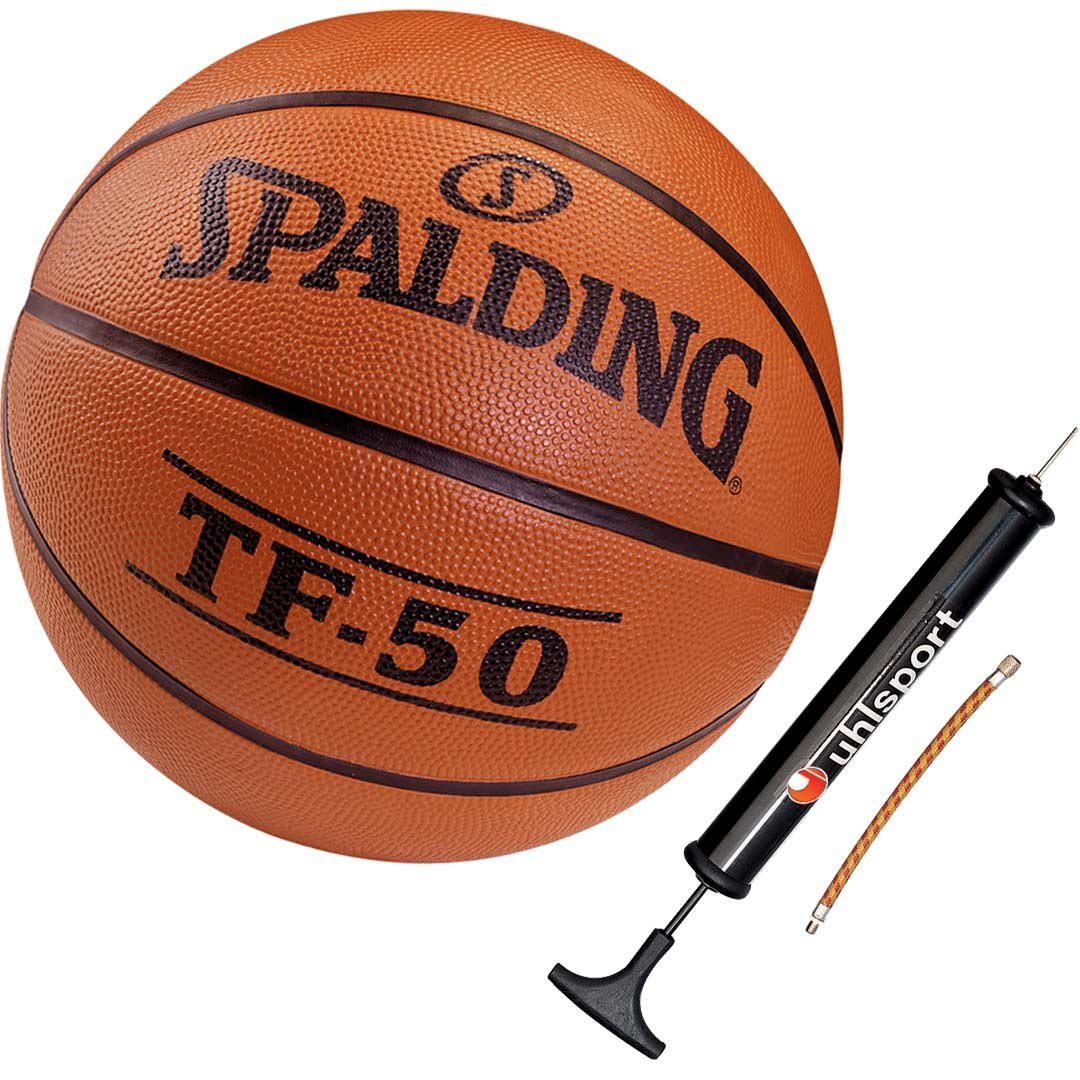 Spalding Baloncesto Infantil tamaño 3 Incluye Balón Bomba: Amazon ...