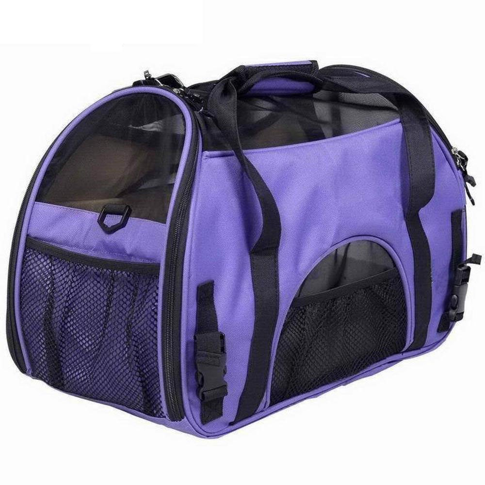 422029cm Dixinla Pet Carrier Backpack Portable hand-held portable dual-use Bag open window air bag