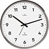 Dugena 4277414 - Reloj de pared analógico, color gris/blanco