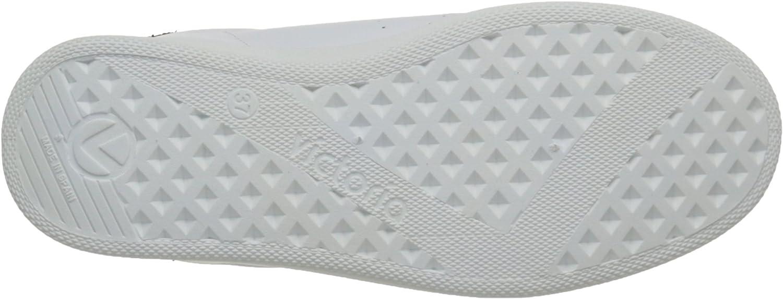 Victoria Deportivo Basket Piel, Sneakers Basses mixte adulte Blanc Blanc Noir 10