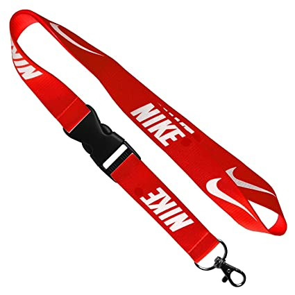 1 X Nike Red Lanyard Keychain Holder