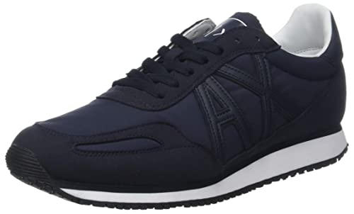 Armani Exchange Low-Top Sneaker, Zapatillas para Hombre: Amazon.es: Zapatos y complementos