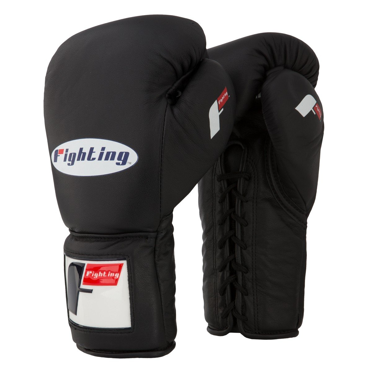Fighting Sports Pro Lace Up Training Gloves by Title Boxing