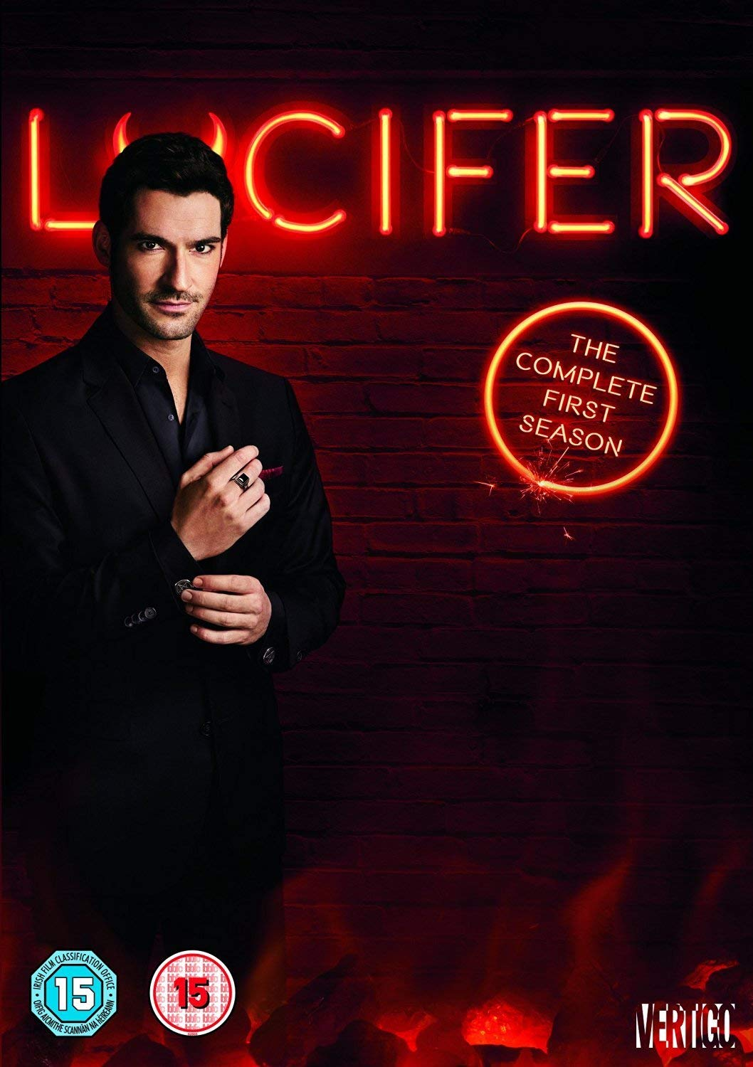 Lucifer: The Complete Season 1 Slipcase Fully Packaged Import ...