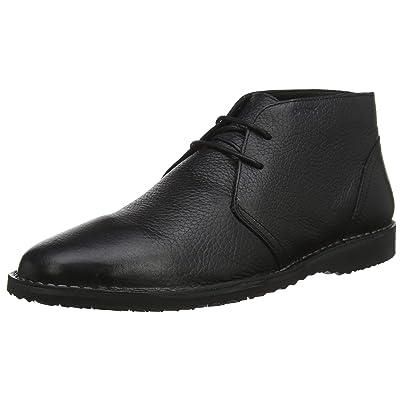 Geox Men's Zal 8 Chukka Boot, Black, 40 Medium EU (10 US) | Chukka