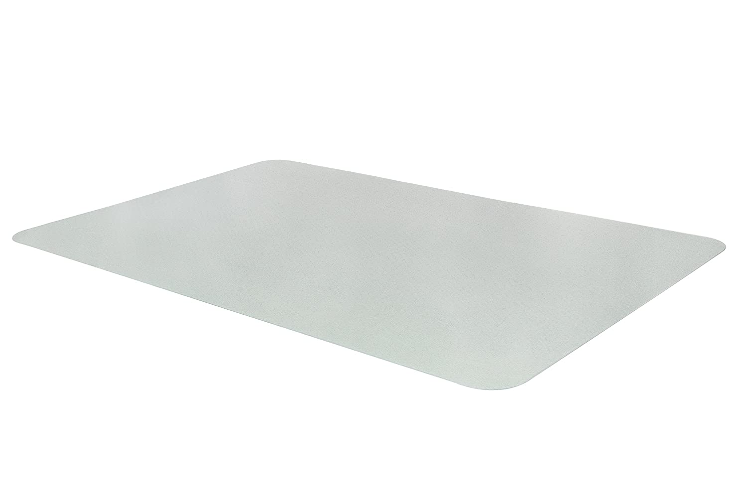 misento 200065 Protective Floor Mat - 40 x 60 cm - 100% PET (Polyethylene Terephthalate) - Transparent