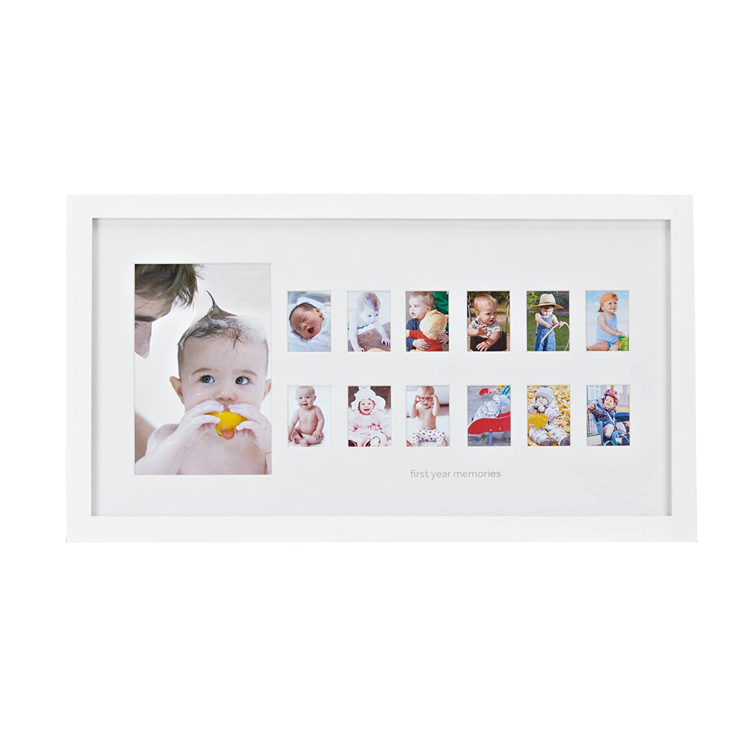First year memories photo frame - Mein erstes Jahr Baby ...