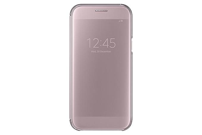 Samsung Clear View Cover für Galaxy A5 (2017) rose