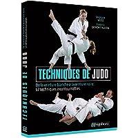 """Livre """" Techniques de judo"""" De la ceinture blanche à la ceinture noire : 57 techniques incontournables"""