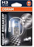Osram H3 P64151 Night Breaker Unlimited Duo Box Lamp (12V, 55W)