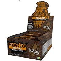 Grenade Reload Protein Flapjacks Chocolate Browning - 12