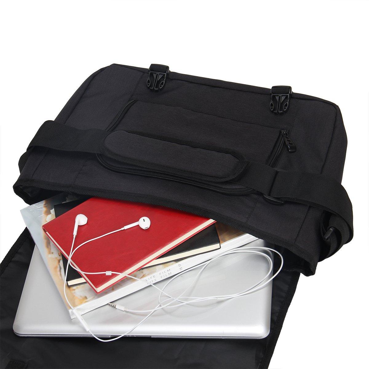 Hynes Eagle Laptop Messenger Bag for 15-inch (Black