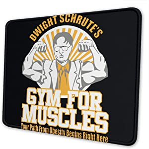 Wehoiweh Dwight Schrute Mouse Pads for Computers, Laptop, Office & Home,Multiple Sizes