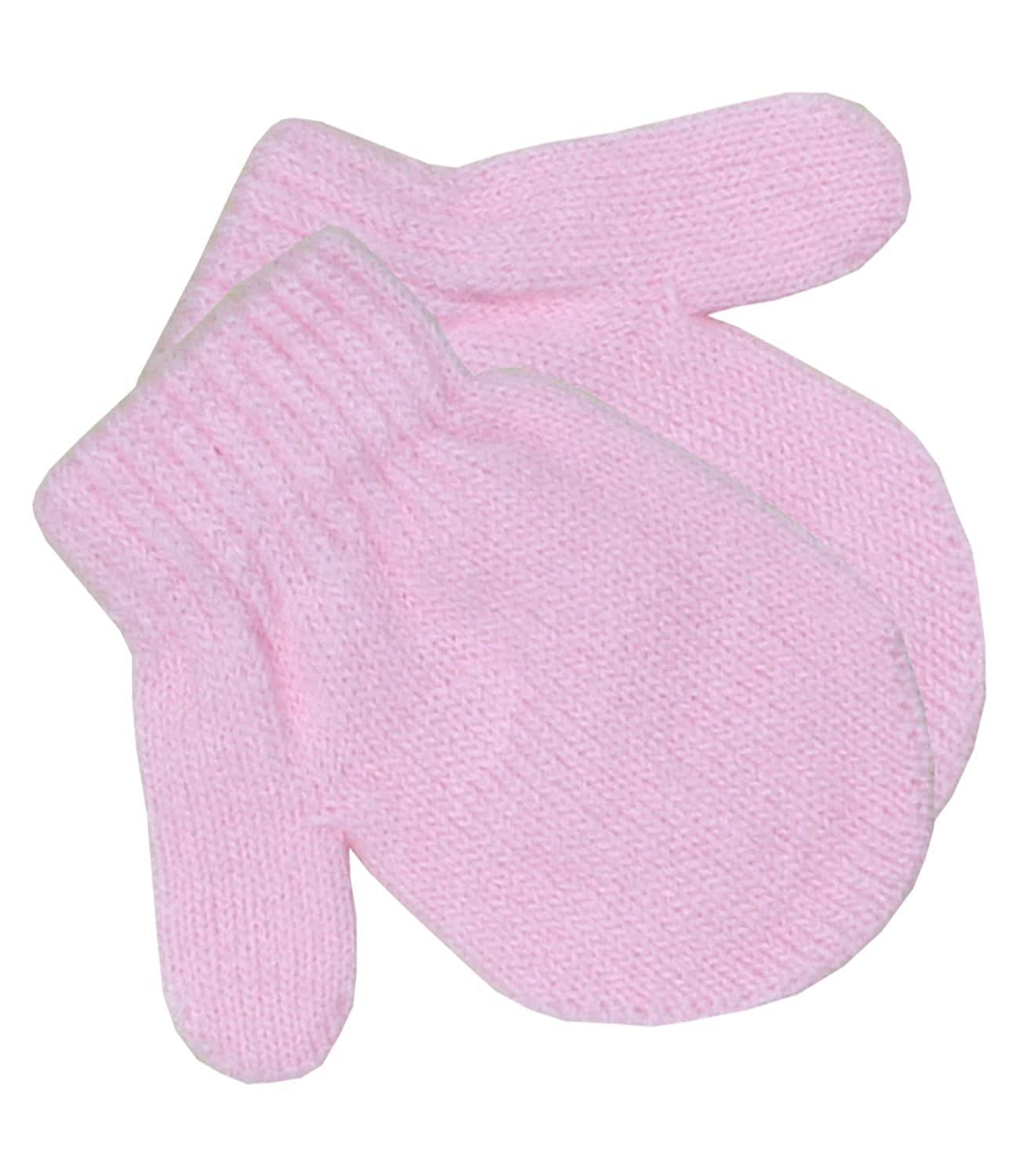 BabyPrem Baby Mittens Gloves Winter Clothes Knitted Pink Blue White Boy Girl PEC704
