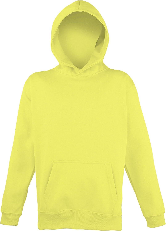 Schoolwear Hoodie Awdis Childrens Unisex Electric Hooded Sweatshirt