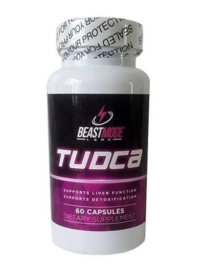 Beastmode labs Tudca hígado soporte 100 mg 60 tapas