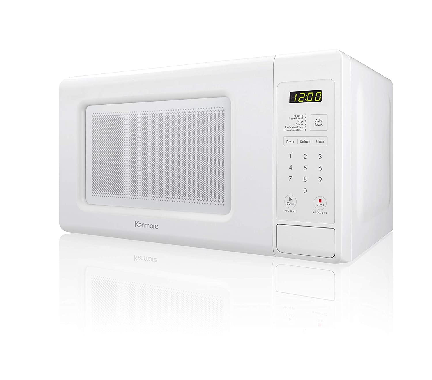Kenmore 71313 1.3 cu ft Countertop Microwave with Sensor in Stainless Steel