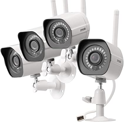 cc652d315 Amazon.com   Zmodo Wireless Security Camera System (4 Pack)