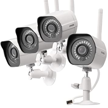 Image Unavailable Amazon.com : Zmodo Wireless Security Camera System (4 Pack), Smart