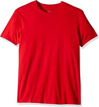 ARMANI EXCHANGE AX Camiseta de hombre modelo 8NZT74 ZJA5Z rojo