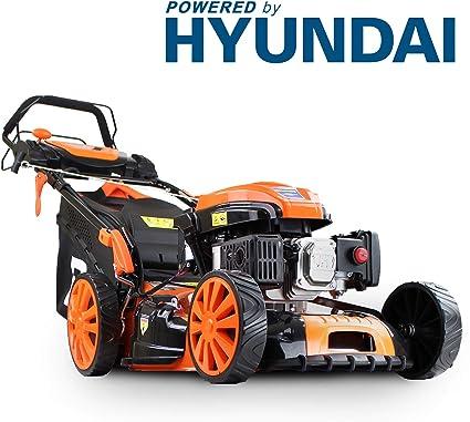 P1PE Petrol Lawnmowers Self Propelled Electric Mower - Best for Inclines