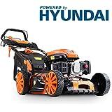 P1PE P5100SPE 4-stroke Petrol Lawnmower Hyundai Powered 173CC Self Propelled Electric Start 51cm Cutting width