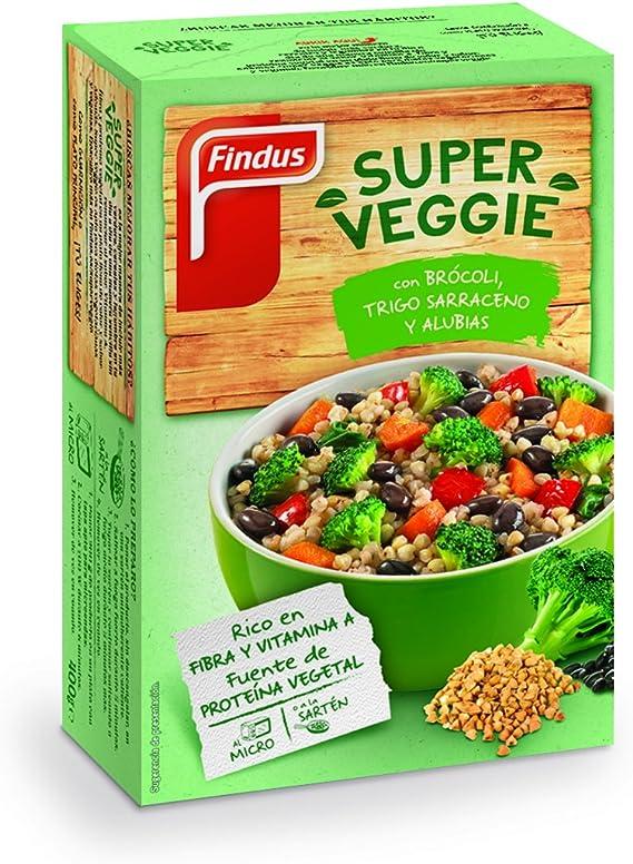 Findus - Super Veggie Brócoli, Trigo sarraceno y Alubias ...