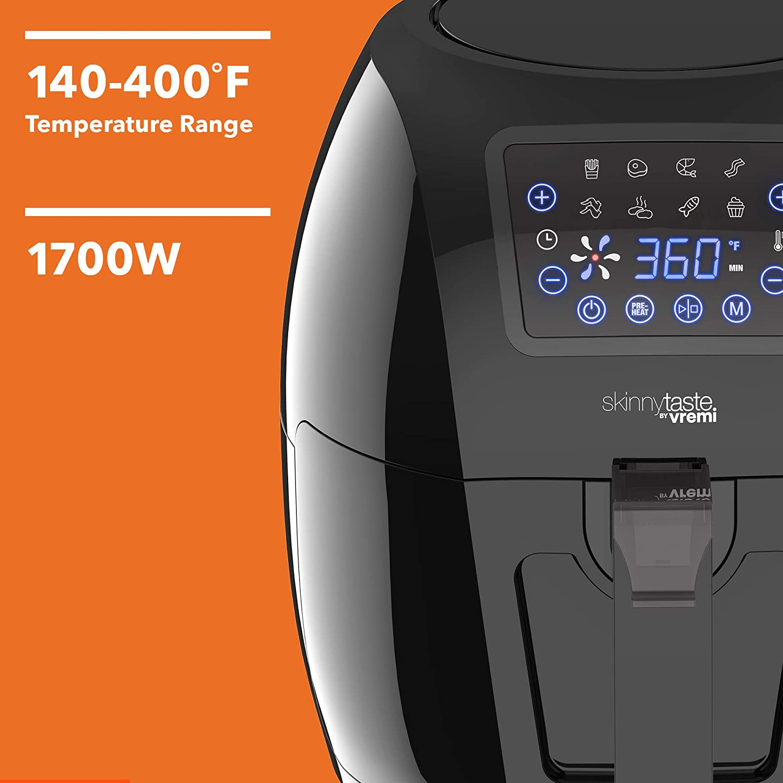 Vremi Skinnytaste by Vremi Air Fryer - Temperature Range