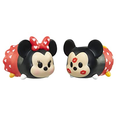 Tsum Tsum Valentine's Day Mickey and Minnie Tsweeties Gift Set: Toys & Games