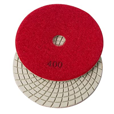 "E5400 Specialty Diamond Resin Diamond Polishing Pad, 5"" 400 Grit - 3mm: Home Improvement"