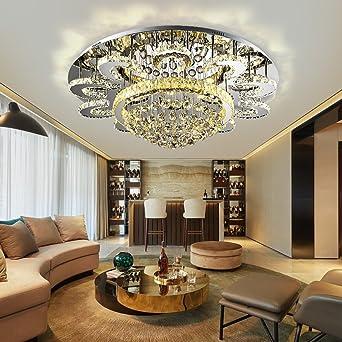 Dw Hx Kristall Decke Wohnzimmer Runde Decke Moderne Schlafzimmer