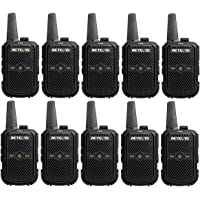 Retevis RT15 Walkie Talkie Recargable, Carga USB, VOX, Radios de Comunicacion Largo Alcance, Mini, Walkie Talkie para…