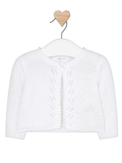 43895e7a19ce Amazon.com  Mayoral - Basic Knit Long Cardigan for Baby-Girls - 0325 ...