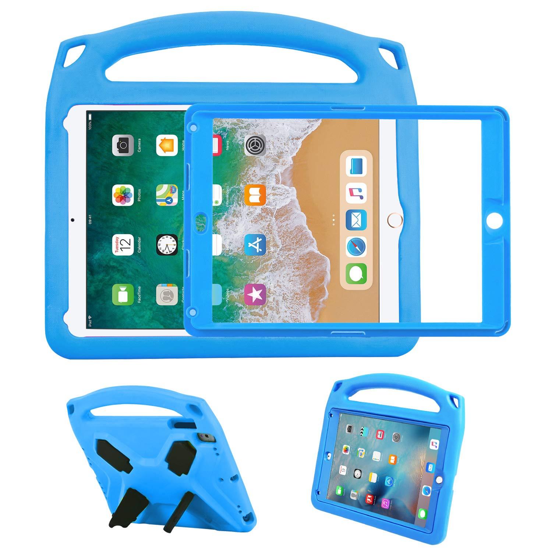NEWSTYLEキッズケース内蔵iPad Air/iPad 9.7用新スクリーンプロテクター2018/2017、耐衝撃性軽量ハンドルスタンドiPad 9.7用キッズフレンドリーケース201.7 iPad/ 2017// iPad Air/iPad Air 2/ iPad Pro(Bule) B07PB91DQD, 犬ステッカー介護ハーネス-ワラ犬:bfe59178 --- itxassou.fr