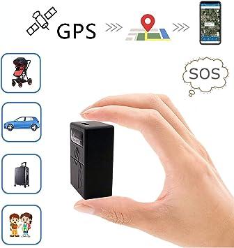 GPS Coches Localizador Mini GPS Tracker GPS/LBS/WiFi Niños Vehículo Localizadores GPS para Coche Tiempo Real Rastreador GPS Mascotas Seguimiento TK921: Amazon.es: Electrónica