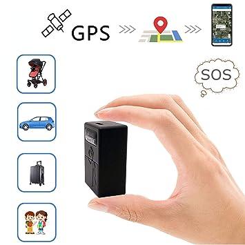 GPS Coches Localizador Mini GPS Tracker GPS/LBS/WiFi ...