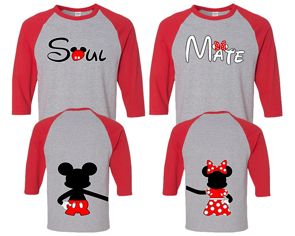 Amazon.com: Soul Mate Couple Shirts, Couple Shirts King And Queen, His And Hers Shirts: Clothing