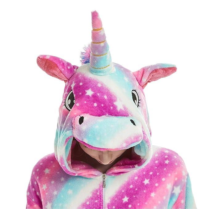 Amazon.com: Disfraz de unicornio unisex para adulto, diseño ...