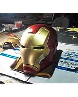 Metal 2017 Electronic Open/Close Iron Man MK42 Wearable Adult Helmet 1:1 Exclusive Props