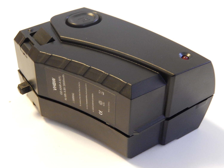 vhbw Batería Ni-MH 3000mAh (4.8V) para aspirador robot de limpieza ...