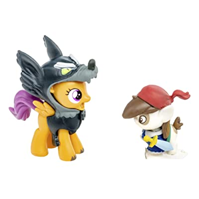 My Little Pony Friendship is Magic Collection Pip Pinto Squeak Scootaloo: Toys & Games