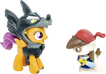Amazon Com My Little Pony Friendship Is Magic Collection Pip Pinto Squeak Scootaloo Toys Games She is a character of the core 7. my little pony friendship is magic collection pip pinto squeak scootaloo