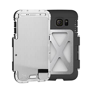 R-JUST Samsung Galaxy S7 Étui  S7 Cadre en métal , Iron Man en ... ec90aee5a6c9