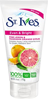 St. Ives Pink Lemon & Mandarin Orange Radiant Skin Face Scrub
