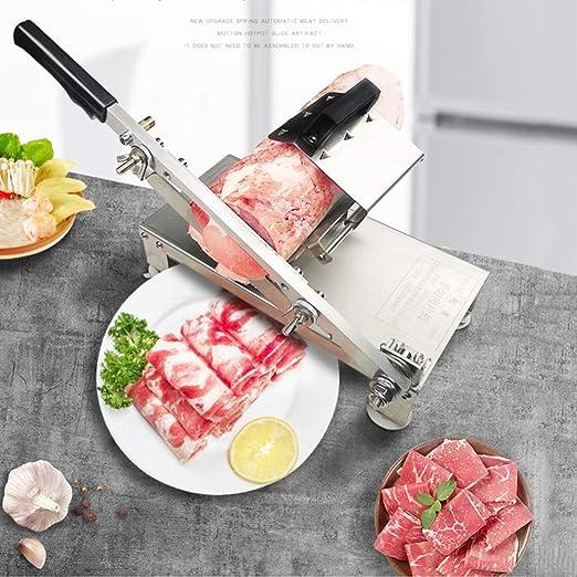 Slicer Meat Slicer Cutter Beef Mutton Sheet Slicing Machine Business Kitchen USA