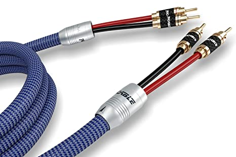 Ricable VS3 Invictus Speaker 2 x 3 m Cable Audio High-End Blindado para Altavoces