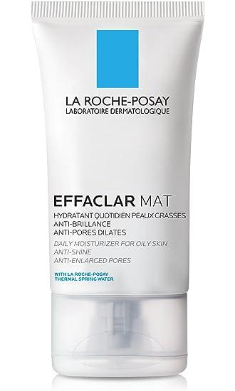 La Roche-Posay Effaclar Mat Face Moisturizer for Oily Skin, 1 35 Fl  Oz