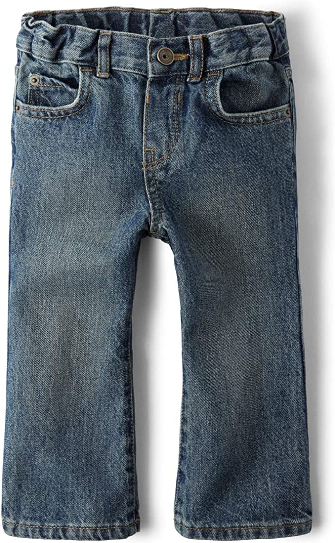 The Childrens Place Baby Boys Bootcut Jeans