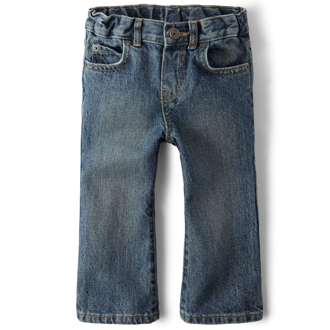 The Children's Place baby-boys and Toddler Boys Basic Bootcut Jeans